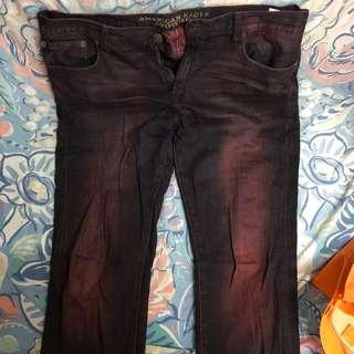 American Eagle Outfitters Guava jean slim cut