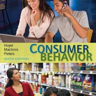 HP3806 Consumer Psychology pdf Textbook