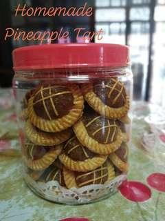 Homemade Nyonya Pineapple Tart