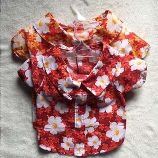 Puppy Floral Clothes Bundle