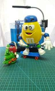 M&M collectable toys lot