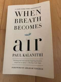 When Breathe Becomes Air (best seller)