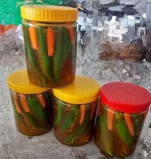Homemade Acar Nyonya Melaka