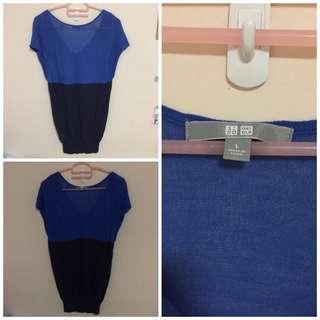 BN Uniqlo knit Blouse size L