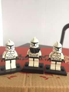 Authentic Lego Star Wars Clone Trooper