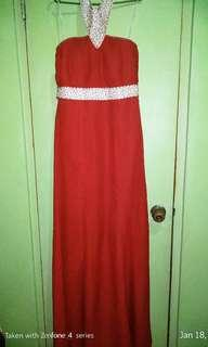 RED Gown for Sale