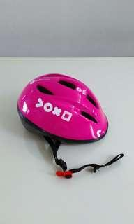 Bicycle helmet for little girls