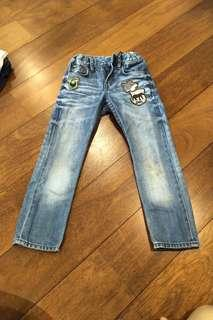 CHILDREN'S JEANS SLIM FIT 4-5 YEARS (H & M)