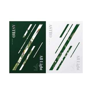 ASTRO 1st Full Length Album ALL LIGHT (Green / White Ver)