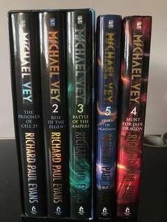 Michael Vey series: hardcover books 1-5