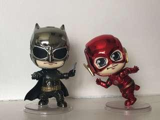 Cosbaby - Flash & Batman (Metallic ver.)
