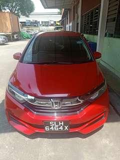 Renting Honda Shuttle during CNY period for 10 days