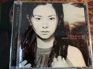 日本女歌手倉木麻衣 CD專輯Delicious way