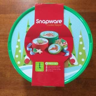 Snapware - Christmas Cookie Keeper 6 pieces Set