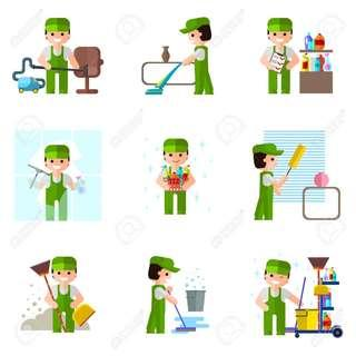 General basic house cleaning
