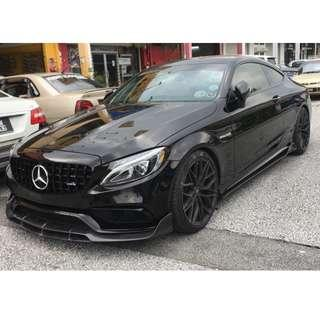 Mercedes Benz C Coupe for long term rent