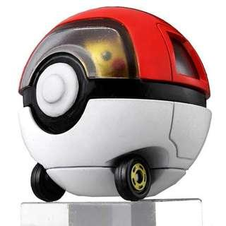 Tomica Dream Tomica Rideon R10 Pikachu and Monster Ball Car (Re-stocks)