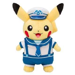 BN Pokemon Center Original Pikachu Plush Yokohama Renewal
