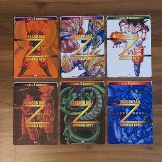集英社 2003年出品 原裝正版 龍珠 貼紙 一套六張 Dragon Ball Z