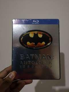 Batman Antologia 1989 - 1997 Limited Rare Bluray Steelbook