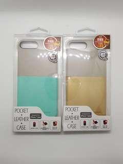 SALE: Zero+ pocket leather case- Iphone 7 plus