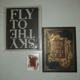 Fly To The Sky - Continuum Autographed Album Set