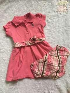 Dress with diaper cover 6/9months