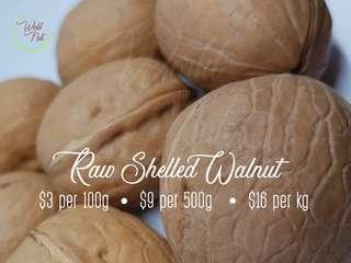 Raw Shelled Walnut