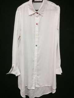 White Shirt white kemeja white blouse