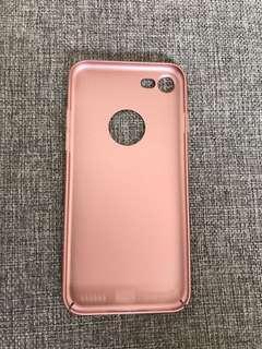 Iphone 7 rose gold soft case