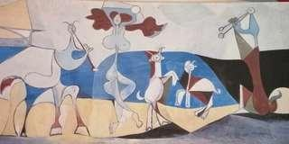 Picasso Wall Painting by ikea
