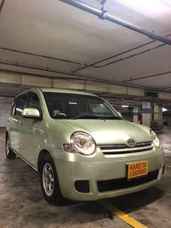 TOYOTA SIENTA 1.5G A! Promo Now! Petrol Saver Proven! 18% off petrol Card! Lowest Price! Can Drive Go-Jek/Grab/Ryde/Tada/Sixtnc! Flexible Rental Scheme! Personal User! Call Now!