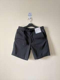 Uniqlo Dry Utility Shorts Black Colorway