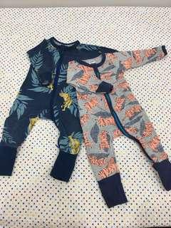 Bonds Wondersuits (3-6mth)