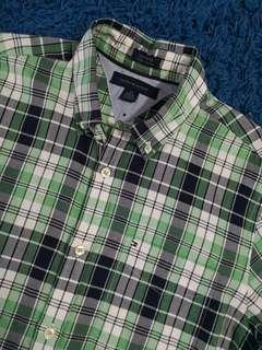 Tommy hilfiger custom fit Checkered shirt