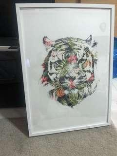 Picture frame - white - large