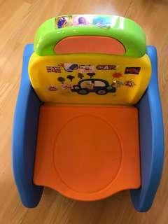 幼兒學習便器+洗頭椅+小椅子(含運)