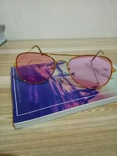 Pink Tinted Sunglasses