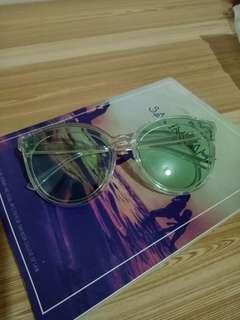 Tinted Mint Sunglasses