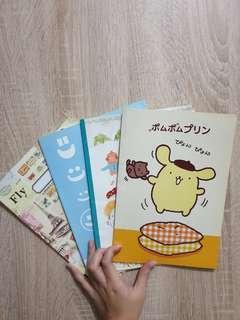 Buku Tulis Cute (4 buku)