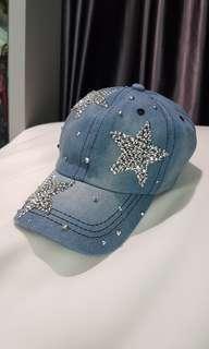 Shiny stars cap