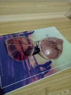 Tinted Pink Sunglasses New
