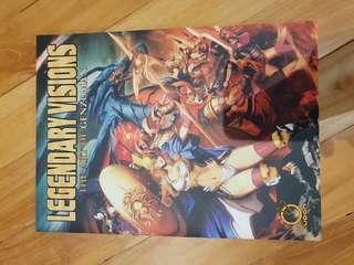 Art of genzoman artbook book illustration achilles cleopatra medusa
