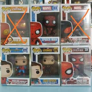 [January 2019 • Week 4] Funko POP! Spider-Man Personal Collection