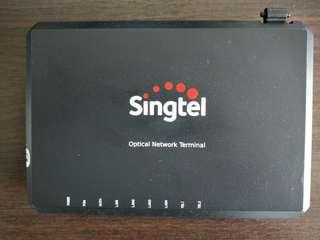 Singtel optical network terminal for fiber broadband
