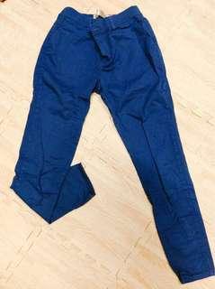 🚚 Giordano 全新深藍長褲