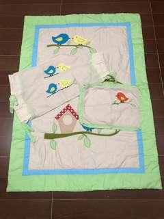 Crib Padded Mat Set