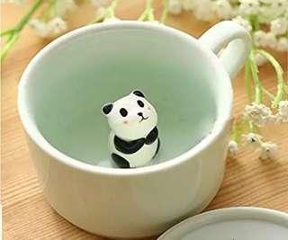Cute 3D animal cup panda cup