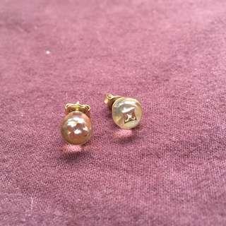 二手正貨 Louis Vuitton Monogram 耳環