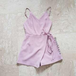 <The Editor's Market> Katie Romper in Blush Pink XS